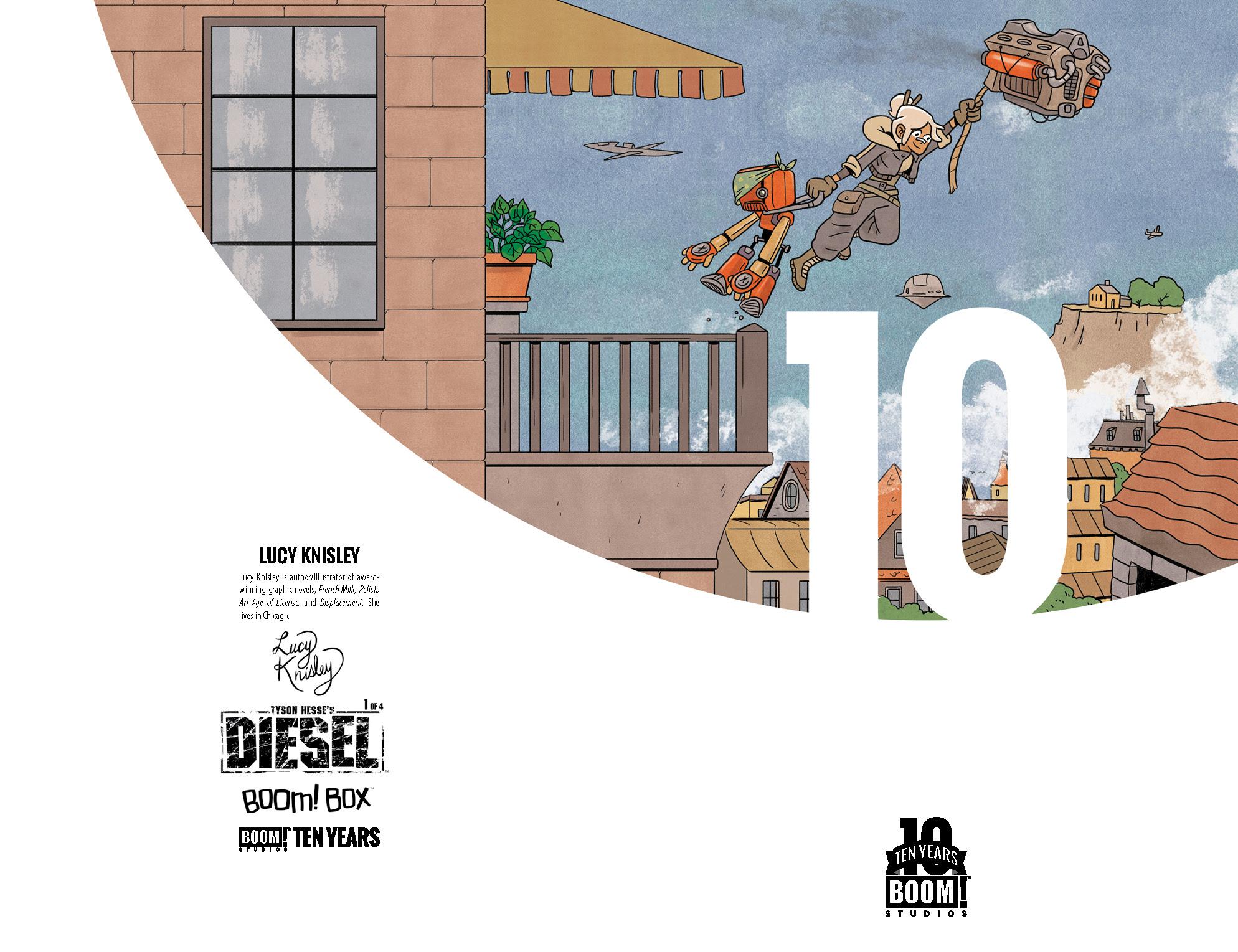 Tyson Hesse's Diesel 10 Years Cover