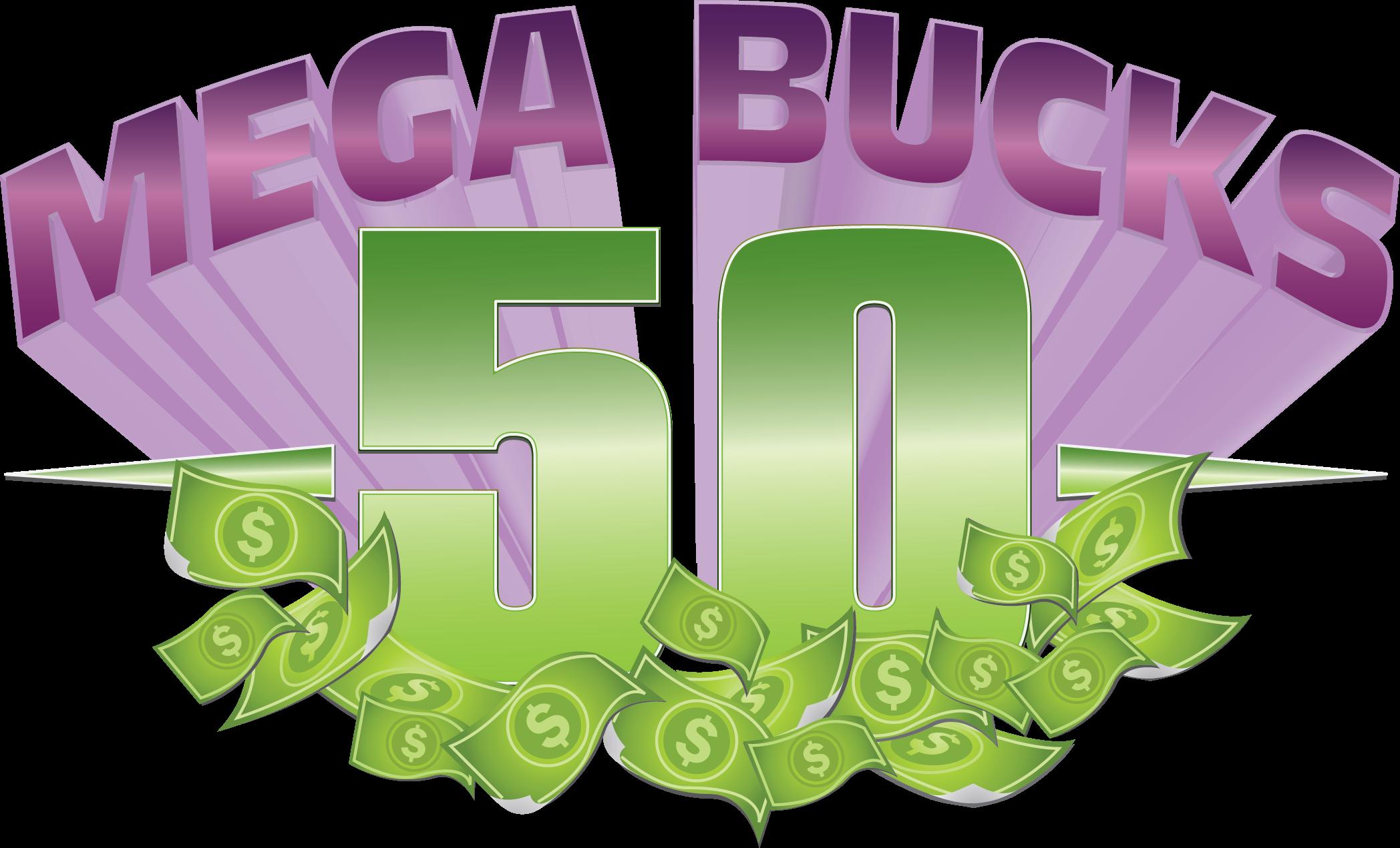 MEGA BUCKS %)