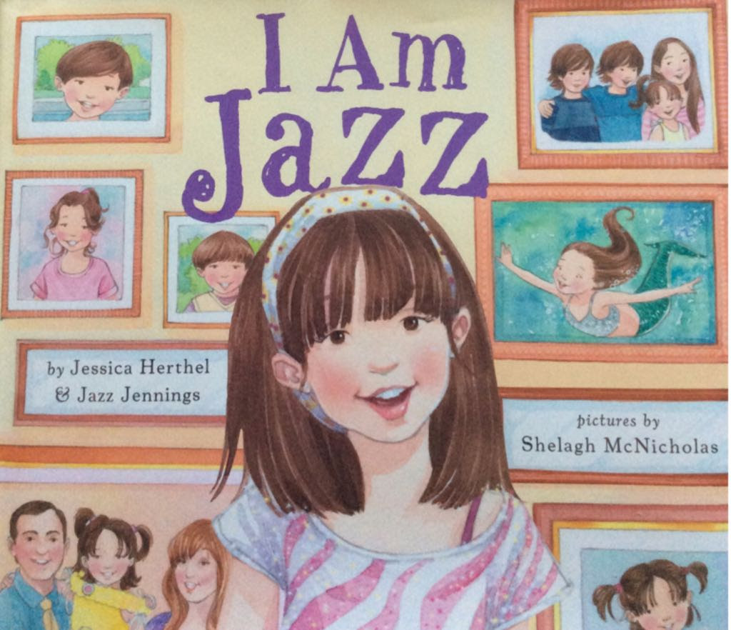 "Cover of the book ""I Am Jazz"" by Jazz Jennings"