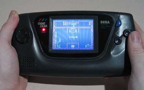 toys from the 90s - Sega Game Gear
