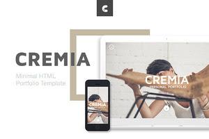 Cremia - Portfolio HTML