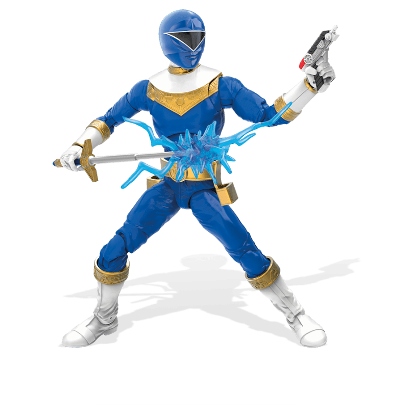 Image of Power Rangers Lightning Collection 6-Inch Figures Wave 4 - Zeo Blue Ranger
