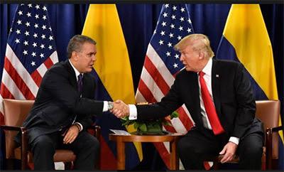 Presidentes de Colombia y Estados Unidos se reunen para ayuda a Venezuela
