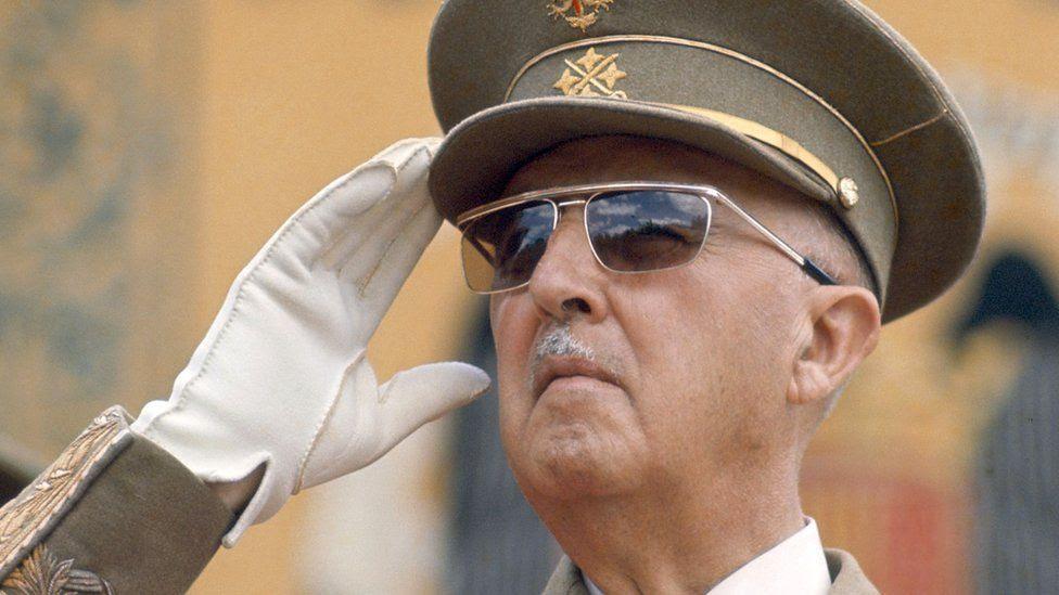 Francisco Franco fotografiado en 1967