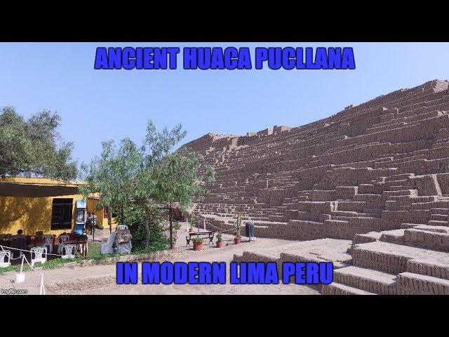 Ancient Pyramids In Modern Lima Peru  Sddefault