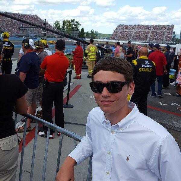 Dylan Glen Cup pit lane