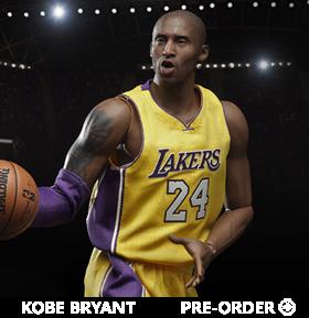 NBA Real Masterpiece Kobe Bryant 1/6 Scale Figure