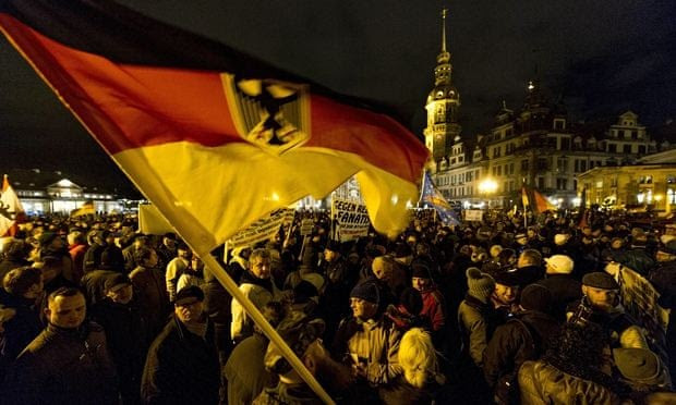 Thousands Gather In Dresden For Anti-Islam Protest