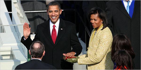 Image result for barack obama assuming office