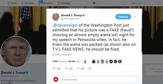 בילד: טראמפ האמערט מידיא איבער טעותים
