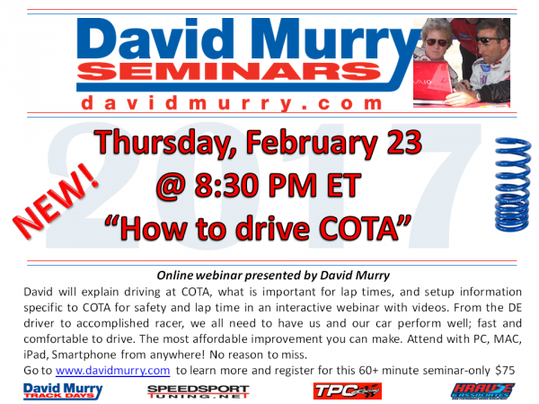 DMS Drive COTA flyer