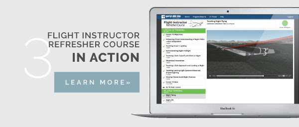 Flight Instructor Refresher Course in action