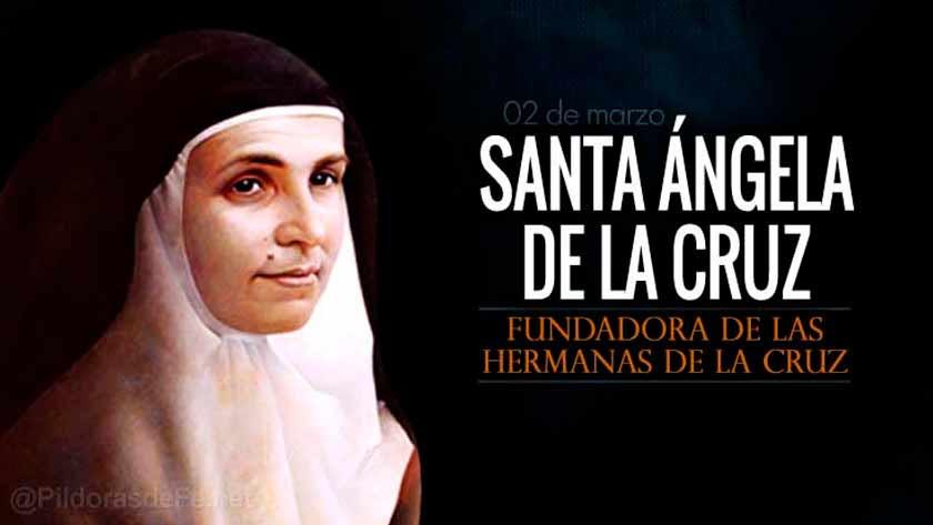 santa angela de la cruz religiosa fundadora hermanas de la cruz
