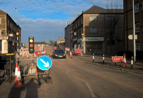 Second phase of upgrade work at Splott Road bridge completed on schedule