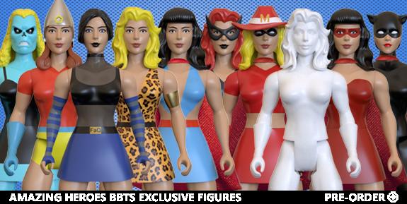 Amazing Heroes Classic Heroines Wave 7 BBTS Exclusive