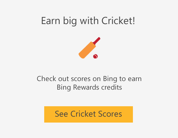 Earn big with Cricket