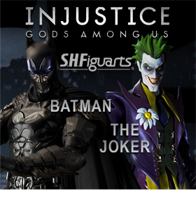 S.H. FIGUARTS INJUSTICE - BATMAN, JOKER