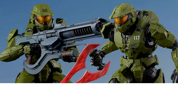 Halo Infinite RE:EDIT Master Chief (Mjolnir Mark VI Gen.3) 1/12 Scale Figure