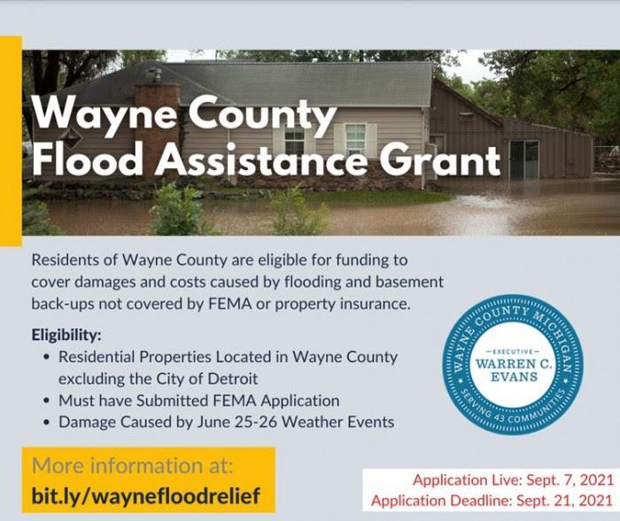 Wayne County Flood Assistance Grant
