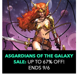 Asgardians of the Galaxy Sale: up to 67% off! Sale ends 9/6.