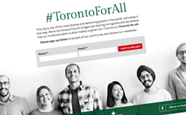 TorontoForAll.ca - Website screenshot