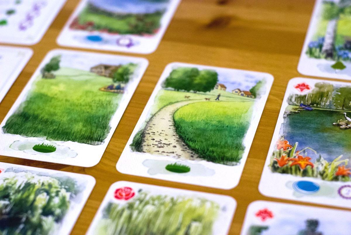 village green por delirium . Cartas