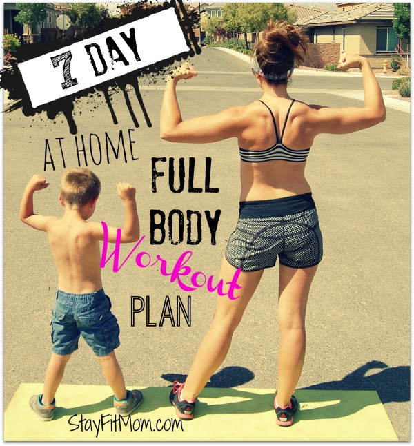 I've got to try this at home workout plan from StayFitMom.com!