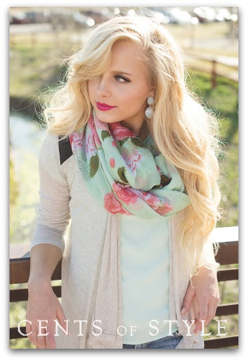 IMAGE: Fashion Friday- 4/18/14- Floral Accessories 50% off with Code APRILSHOWERS