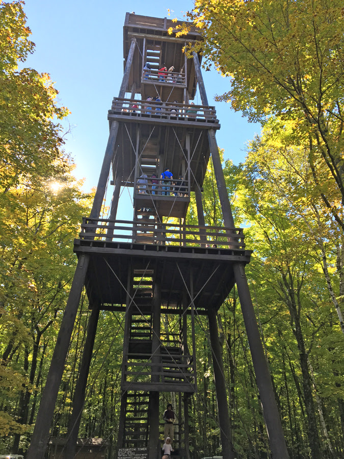 The observation tower at Potawatomi State Park will be dismantled after three separate studies found decay and rot in the sturcuture that was built in 1932. -  - Photo credit: DNR