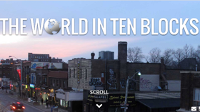World in Ten Blocks - Video screenshot