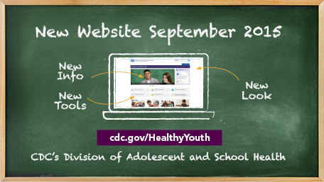New Healthy Youth Website September 2015