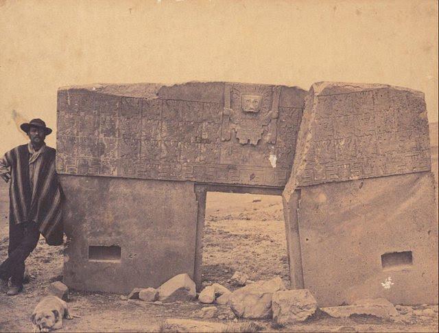 Puerta del Sol redescubierta por exploradores europeos en el siglo 19.