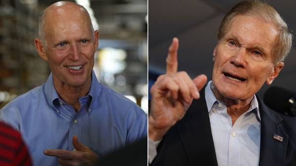 Image: HEADED TO HAND RECOUNT? It appears the Fla. Senate race is headed to a hand recount, while the race for Fla. Governor may be over.