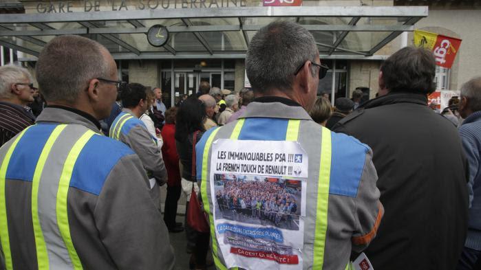 VIDEO. Mélenchon, Poutou et un millier de personnes manifestent avec les salariés de GM&S