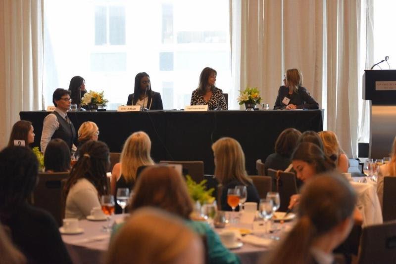 WIT panel discussion (l-r) Corey Beck, Erin Billups, Stefanie Kane, and Elizabeth Núñez