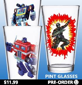 SUPER7 PINT GLASSES