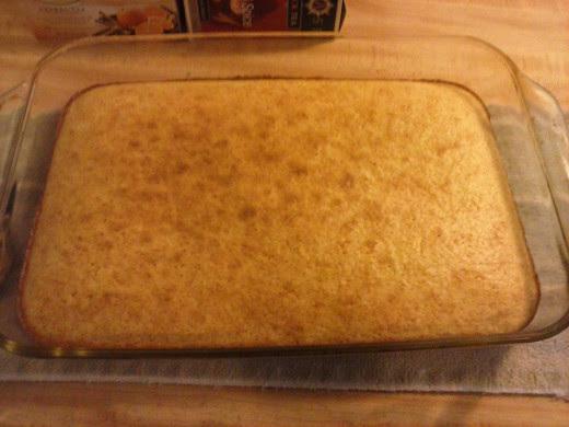 Golden Brown Gluten Free Cornbread is done!