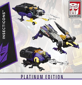 PLATINUM EDITION INSECTICONS THREE PACK