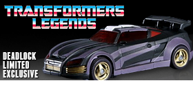TRANSFORMERS LEGENDS DEADLOCK EXCLUSIVE