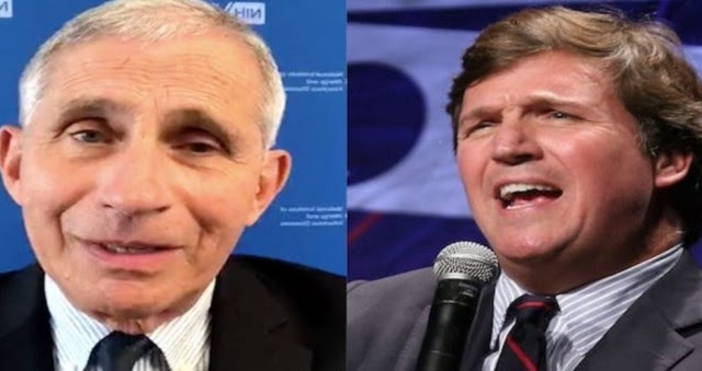 Fraudster Fauci and Tucker Carlson Trade Blows in HEATED Situation