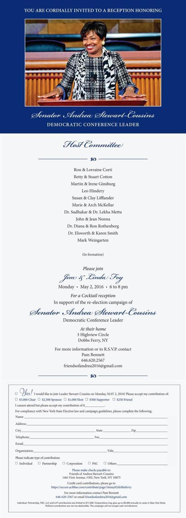 Dobbs Ferry Fundraiser