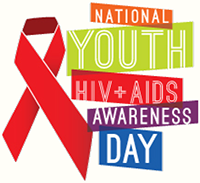 Logo for National Youth HIV/AIDS Awareness Day, April 10, 2016