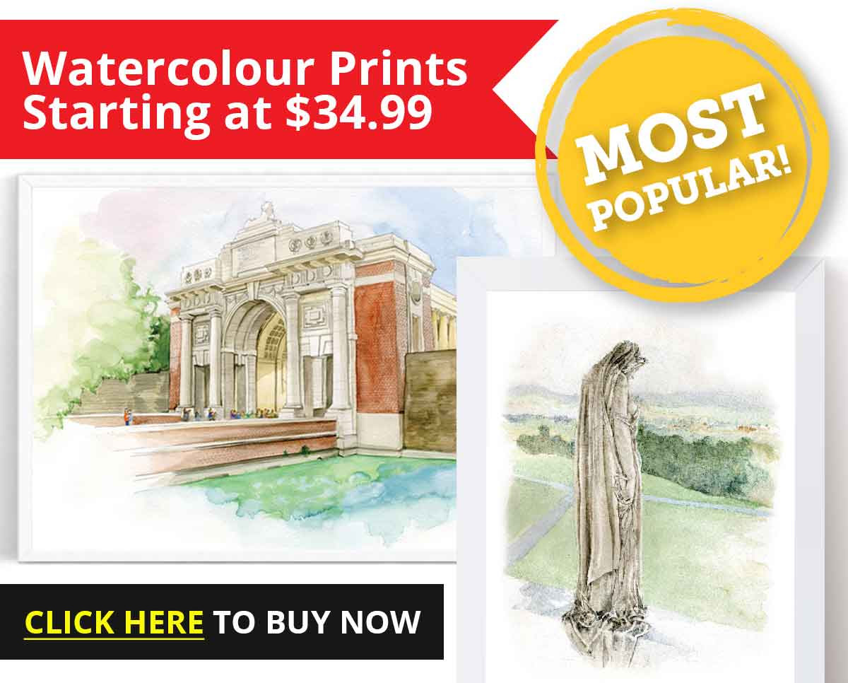 Watercolour Prints starting at $34.99!