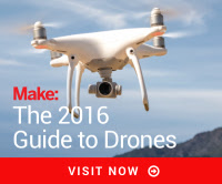 Find the Rights Drone with the Make: Guide to Drones