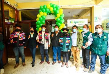 Inauguran agencia de Agrobanco en Huancavelica