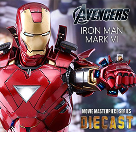1/6 SCALE IRON MAN MARK VI COLLECTIBLE FIGURE