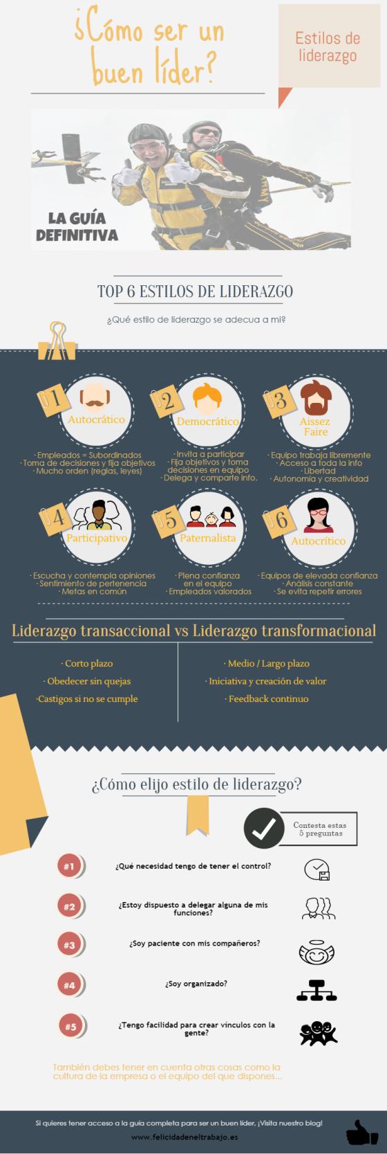 Estilos de Liderazgo: la guía definitiva