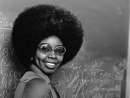 The scientist Valerie Thomas
