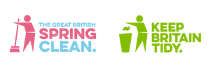 GB Spring Clean & Keep Britain Tidy logos