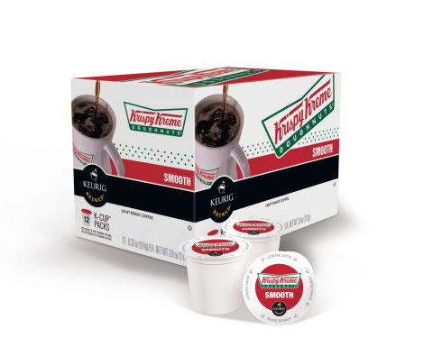 Krispy Kreme Smooth Keurig K-cup coffee